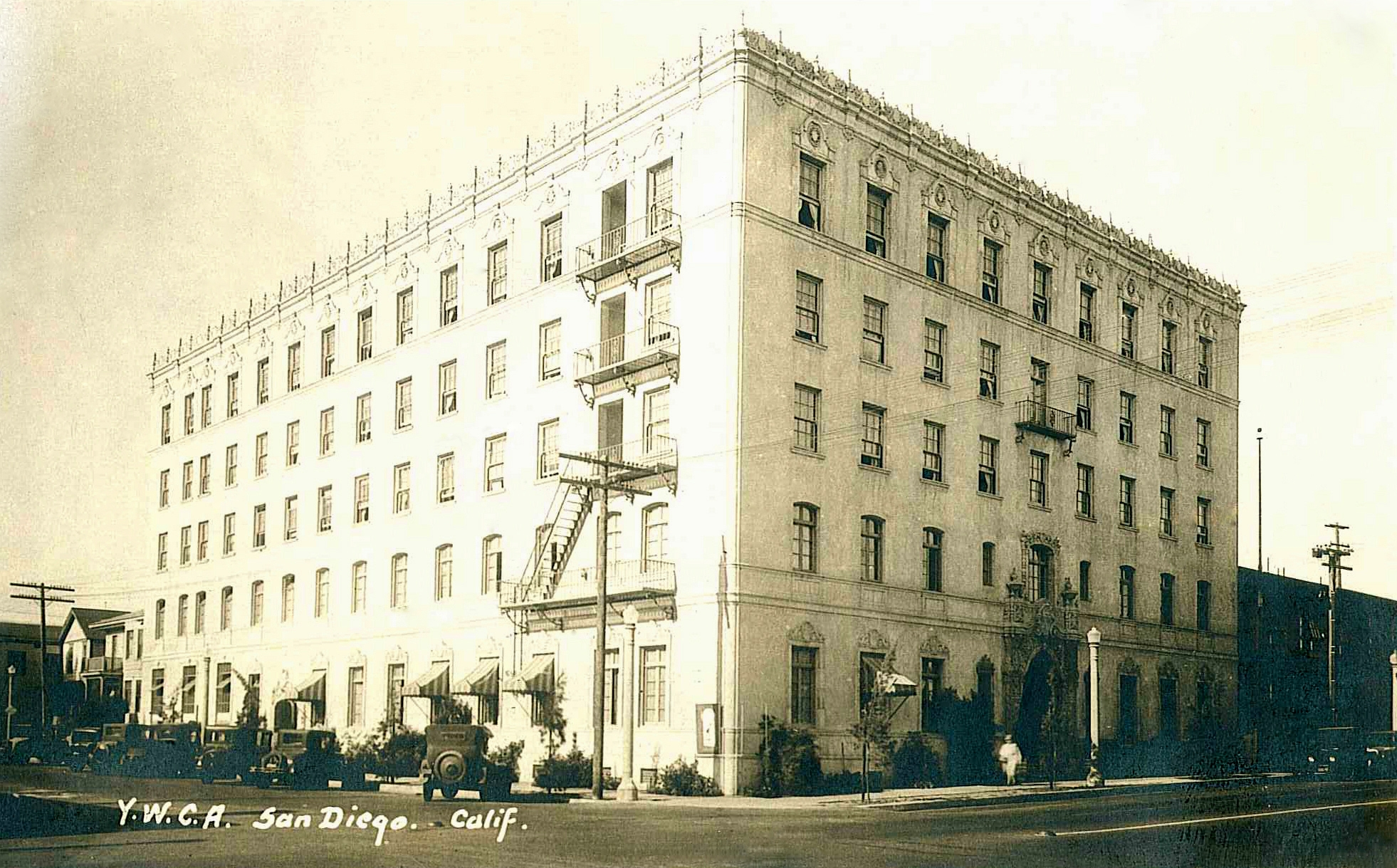 Historic Administrative Building_YWCA of San Diego County_Photo
