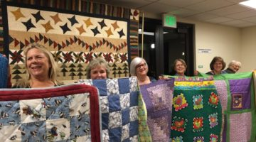 Sunshine Quilters 2017 Donation